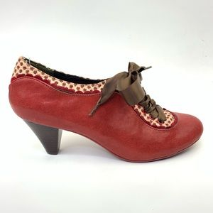 Poetic Licence backlash bootie oxford red Sz 8.5